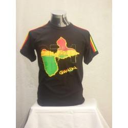 te shirt gwada noir et blanc lion of judah et stone 971