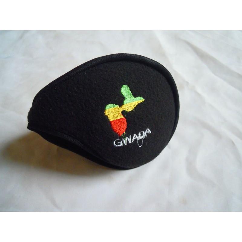 Cash oreille noir Guadeloupe vert jaune rouge  taille unique