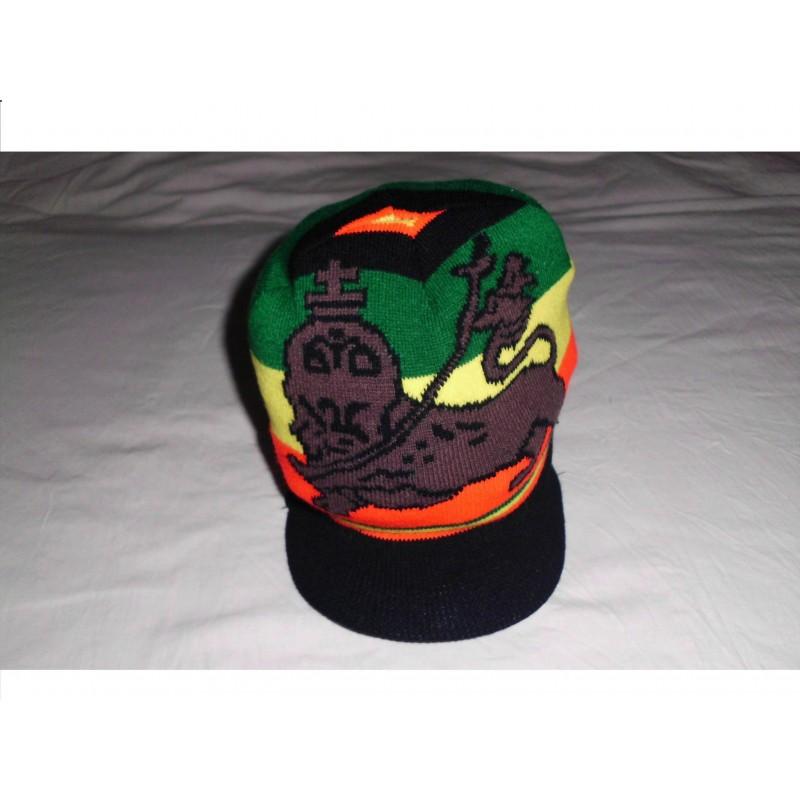 Bonnet noir Conquering lion tribe of Judah