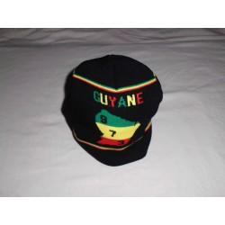 Bonnet noir avec visière GUYANE 973